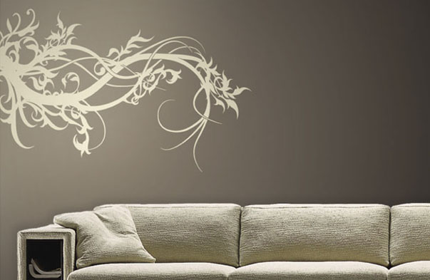 wall tattoo ezeliving. Black Bedroom Furniture Sets. Home Design Ideas