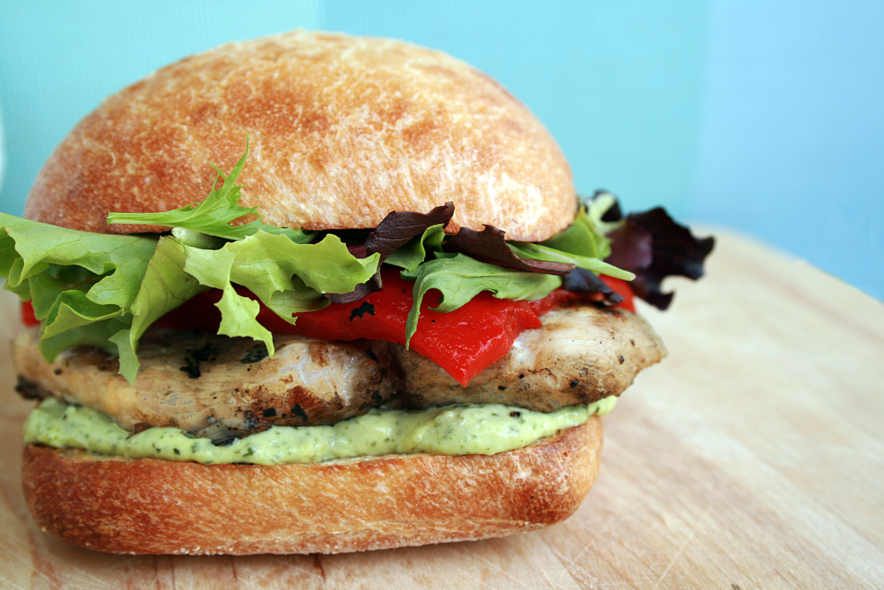 How To Make A Healthy Grilled Chicken Sandwich « eZeLiving