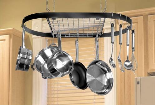 Kitchen Hanging Pot Rack Ikea