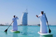 how to SUP in dubai