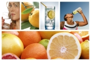 lemon water banner