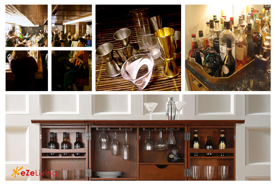 How To Set Up The Perfect Home Bar For Entertaining Guests
