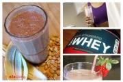 protein shake banner