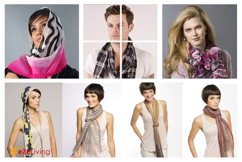 how to wear a scarf in summer from forever 21