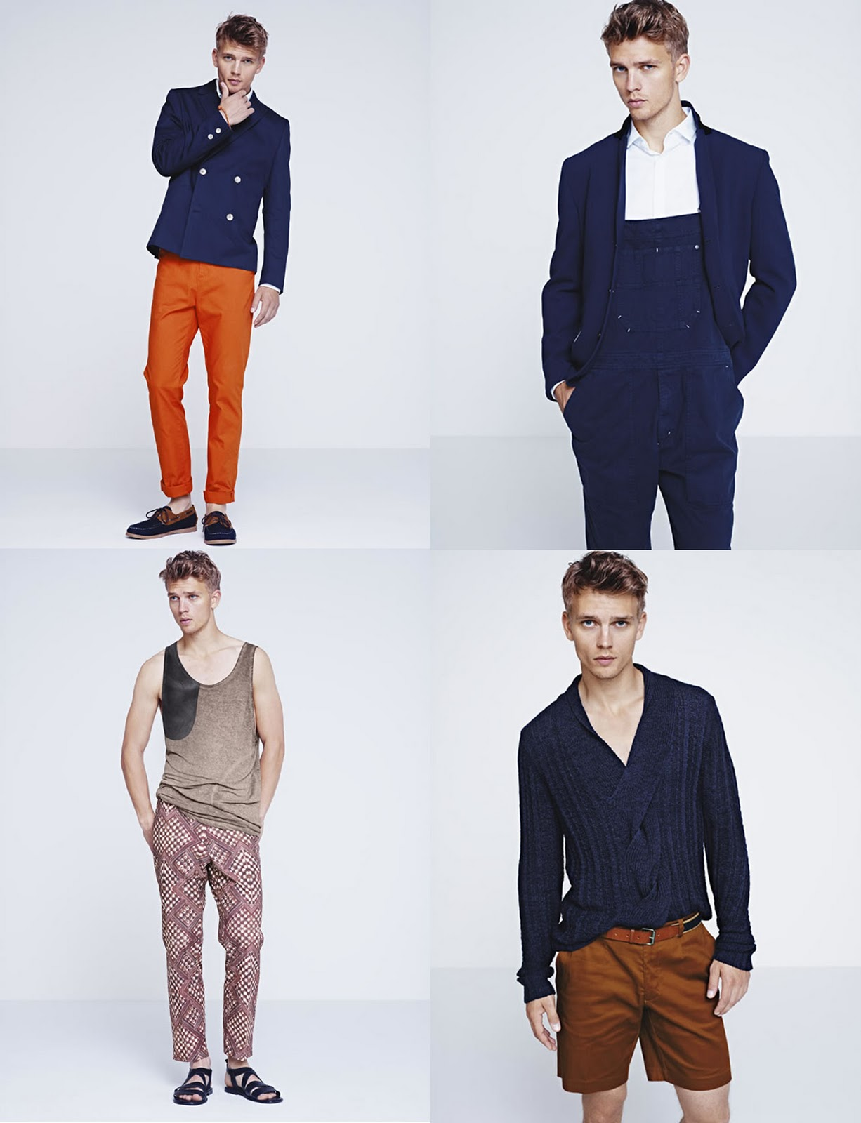 H&M Men's Summer Fashion Trends [VIDEO] « eZeLiving