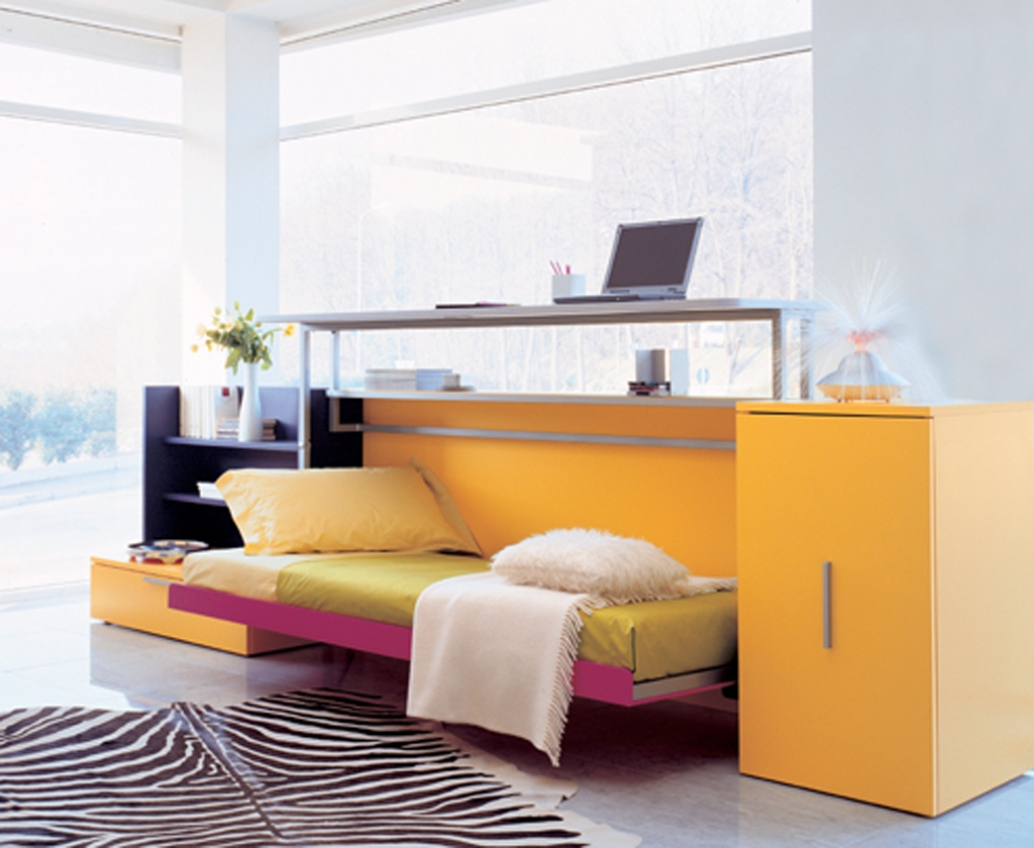 Functional furniture for small flats ezeliving - Small work space decor ...