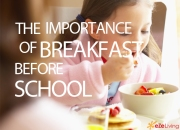 The importance of Breakfast before school