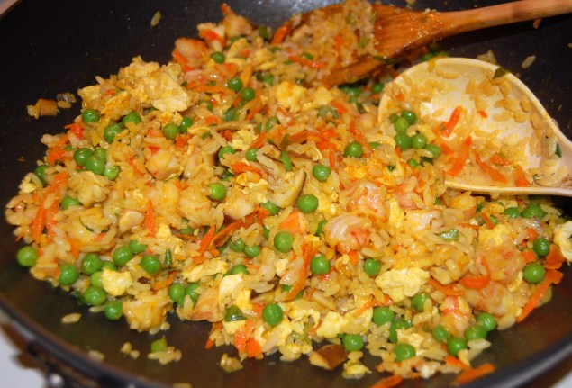 chicken fried rice made at home