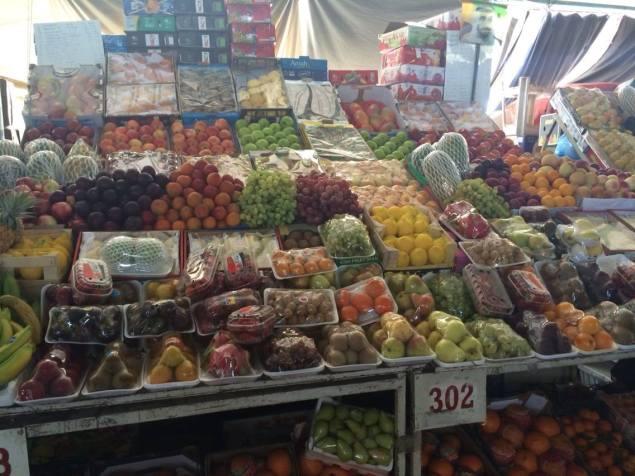 Dubai fruit and vegetable market