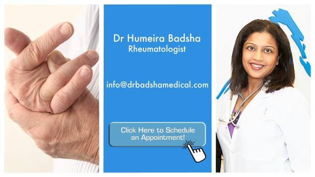 the good doctor - dr humeria badsha - arthritis