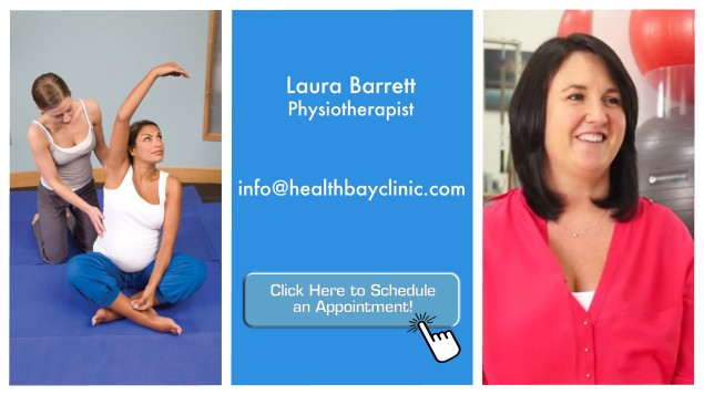 the good doctor - laura barrett - pregnant physiotherapy