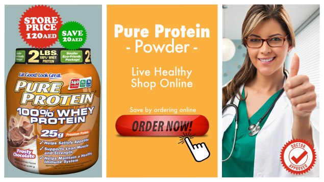 the good doctor - life pharmacy - pure protein