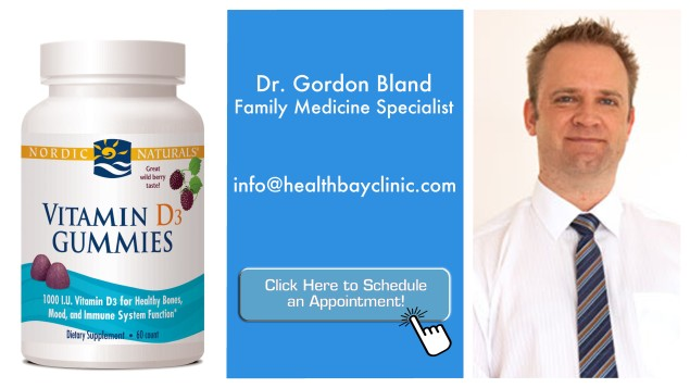 the good doctor - dr gordon bland - vitamins for adults