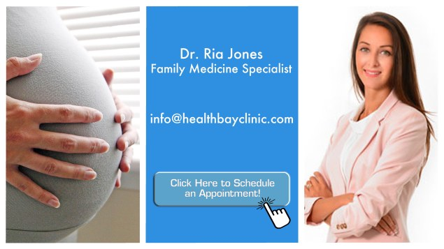 the good doctor - dr ria jones - pregnant care
