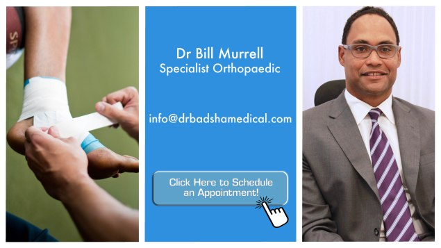 the good doctor - dr bill murrell - sports medicine